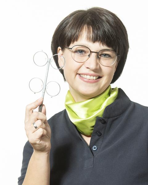 Brillenstube Flöha und Hainichen - Optikerin Yvonne Richter